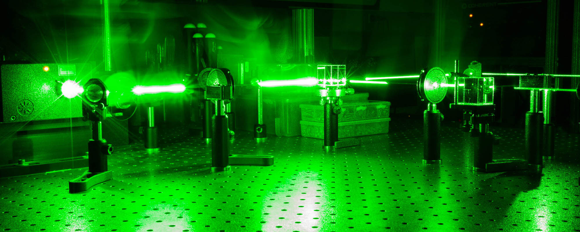 Optics laser lab