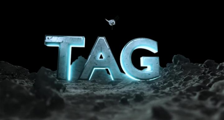 TAG on surface of Bennu