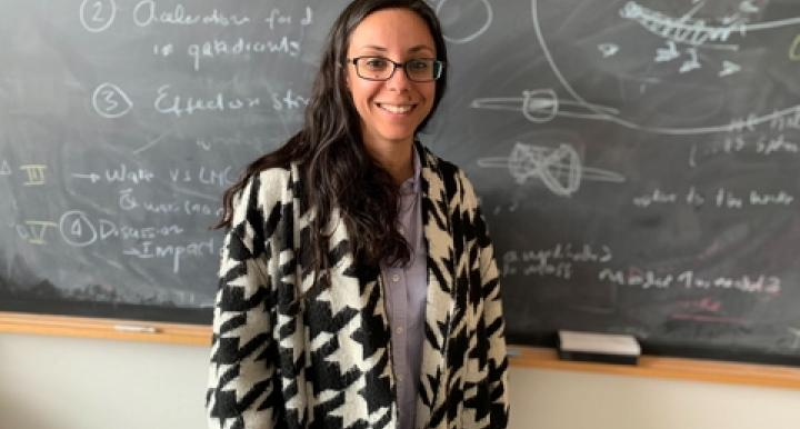 Gurtina Besla has received a five-year, $745,000 CAREER grant from the National Science Foundation.